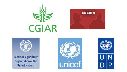 Supported by: CGIAR, FAO, KM4Dev, UNDP and UNICEF